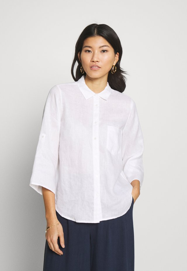 CINDIE - Button-down blouse - bright white