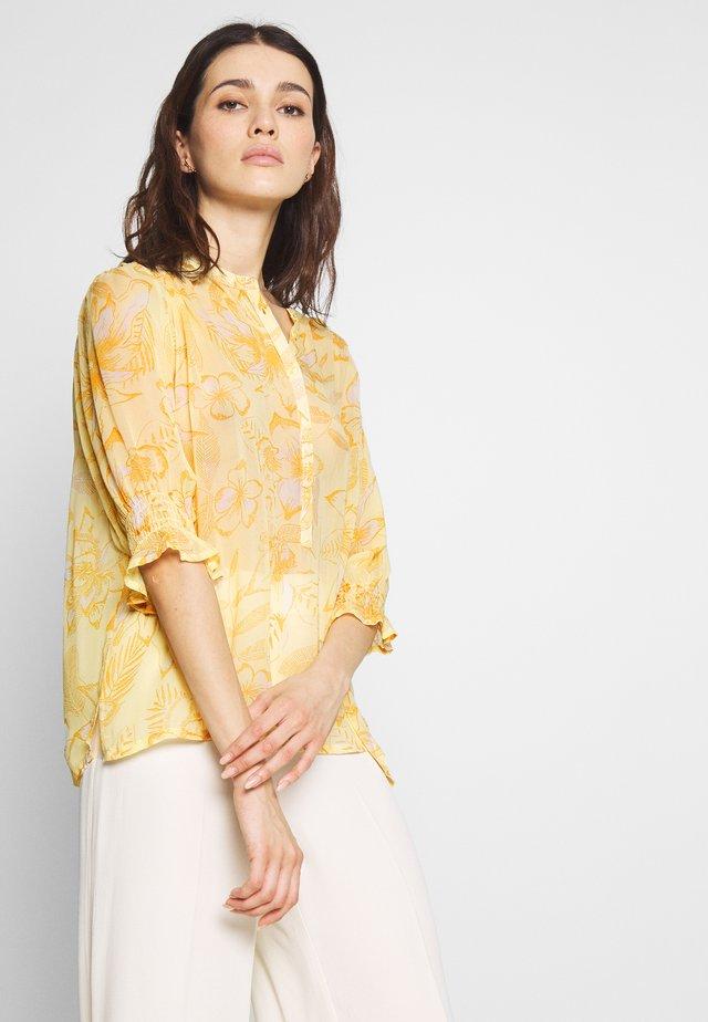 CARAS - Bluser - yellow