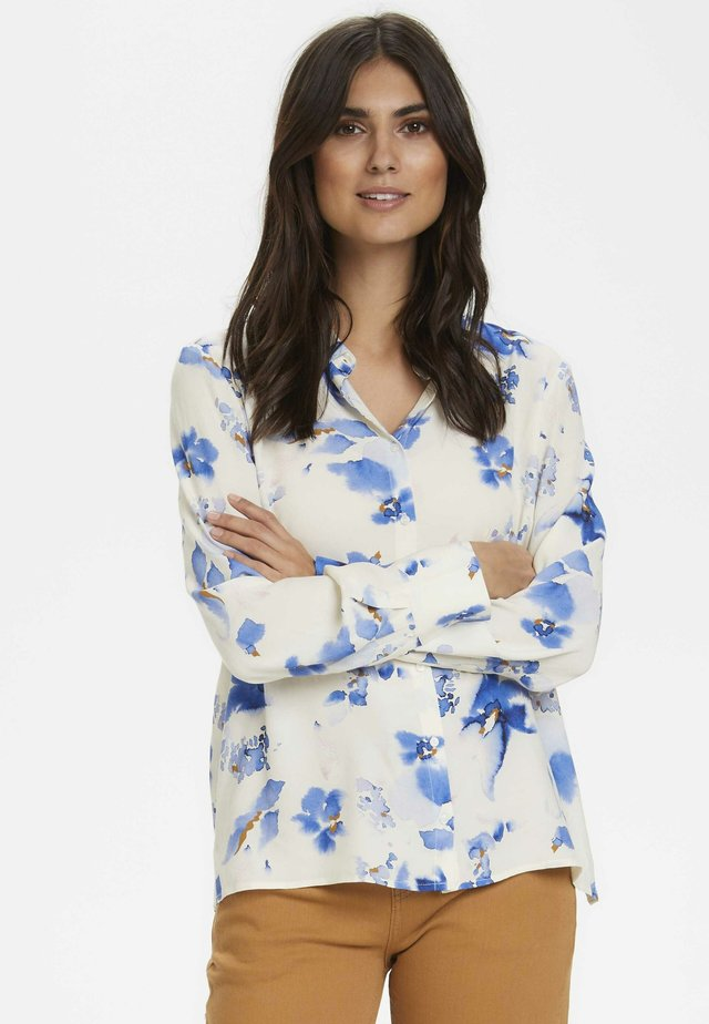 BIRGITHPW - Button-down blouse - blue