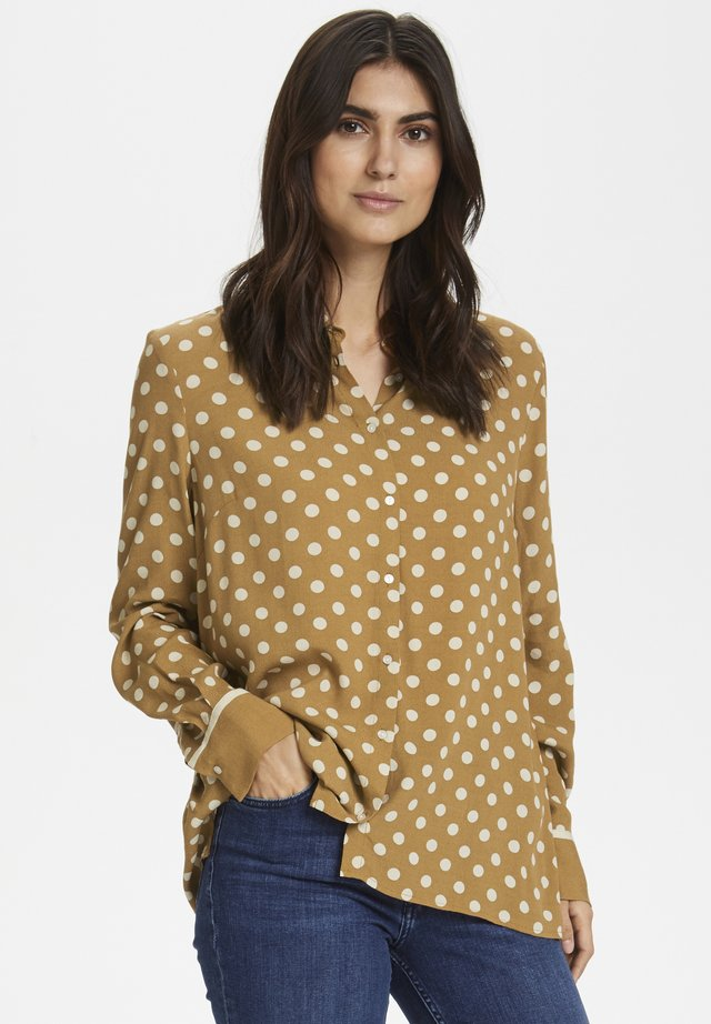 BIRGITHPW - Button-down blouse - brown