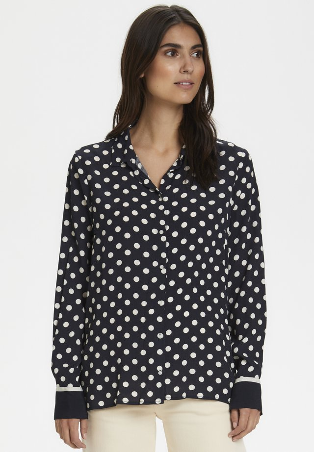 BIRGITHPW - Button-down blouse - dark navy