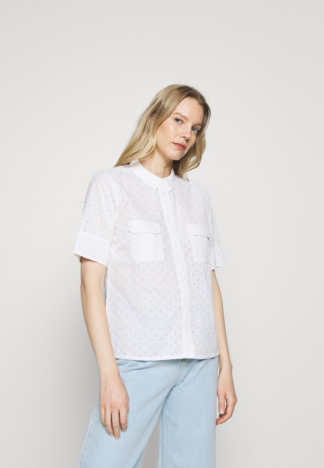 DOGA - Button-down blouse - bright white
