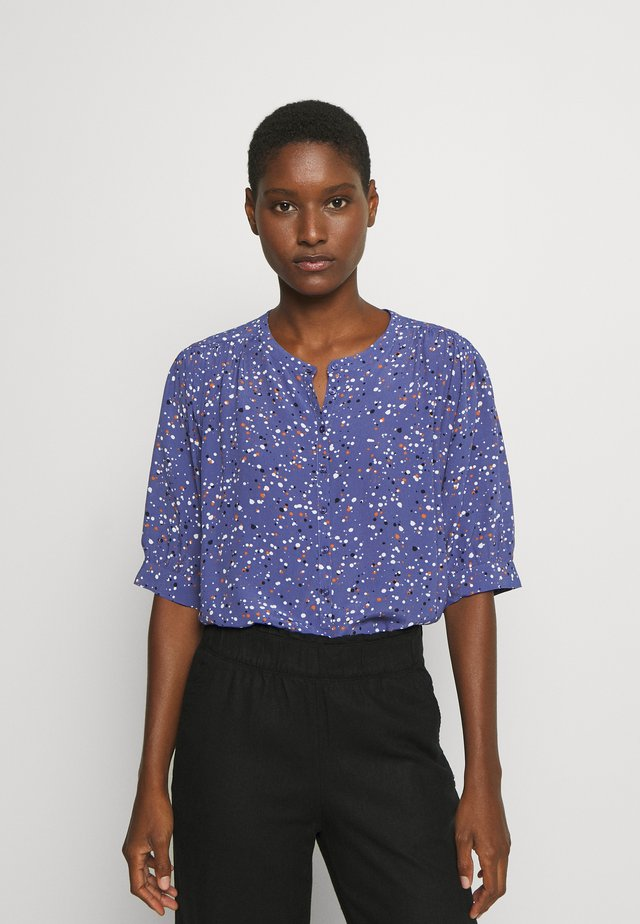 DIMA - Button-down blouse - marlin blue