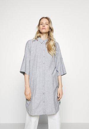 RIVA - Shirt dress - stripe navy