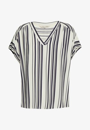 DRINE - Blouse - bold stripe, navy