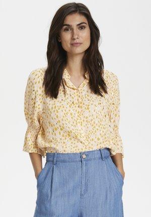 CAIASPW SH - Button-down blouse - cream tan