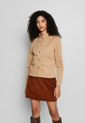 BEGINA - Summer jacket - tannin