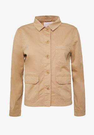 BEGINA - Summer jacket - tannin