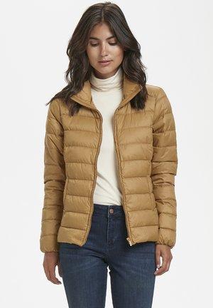 Down jacket - light brown