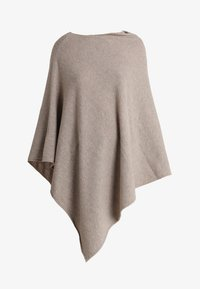 Part Two - KRISTANNA - Poncho - light camel melange - 4