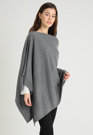KRISTANNA - Ponczo - medium grey