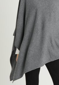 Part Two - KRISTANNA - Poncho - medium grey - 4