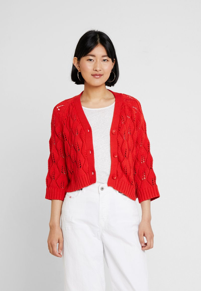 Part Two - SANDY - Strickjacke - fiery red