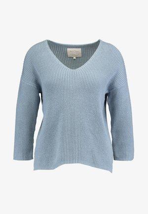 PETRONAS - Stickad tröja - dusty blue
