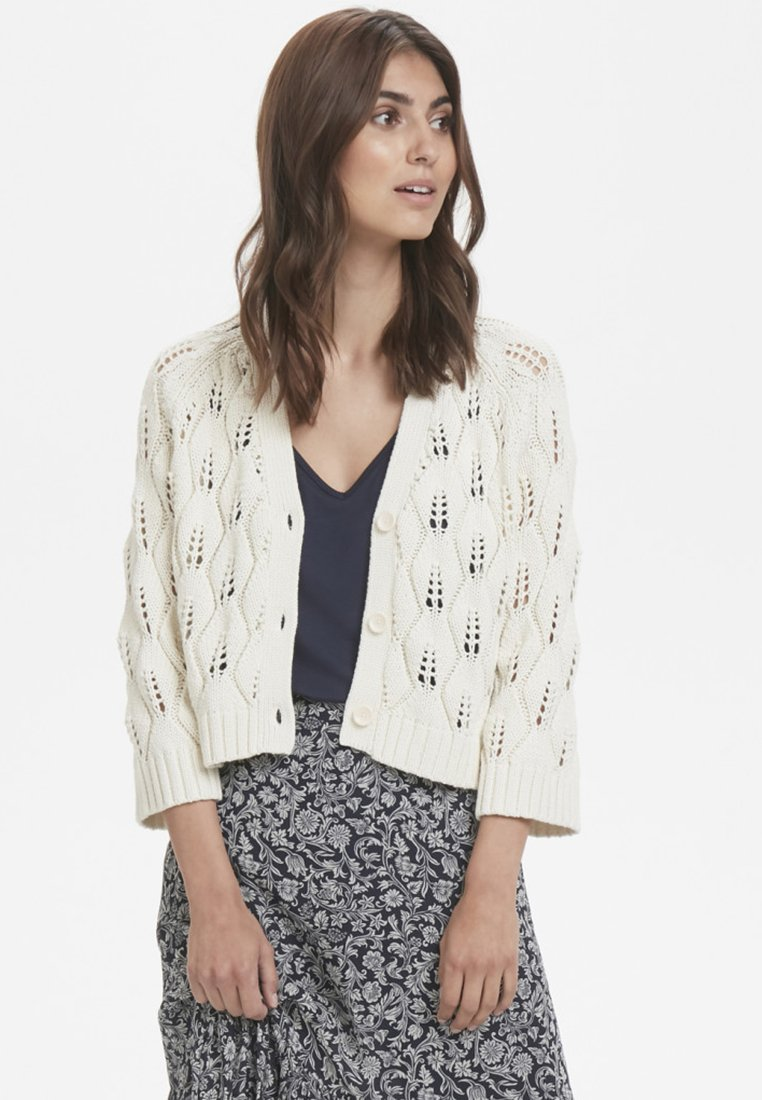 Part Two - SANDY  - Cardigan - off-white