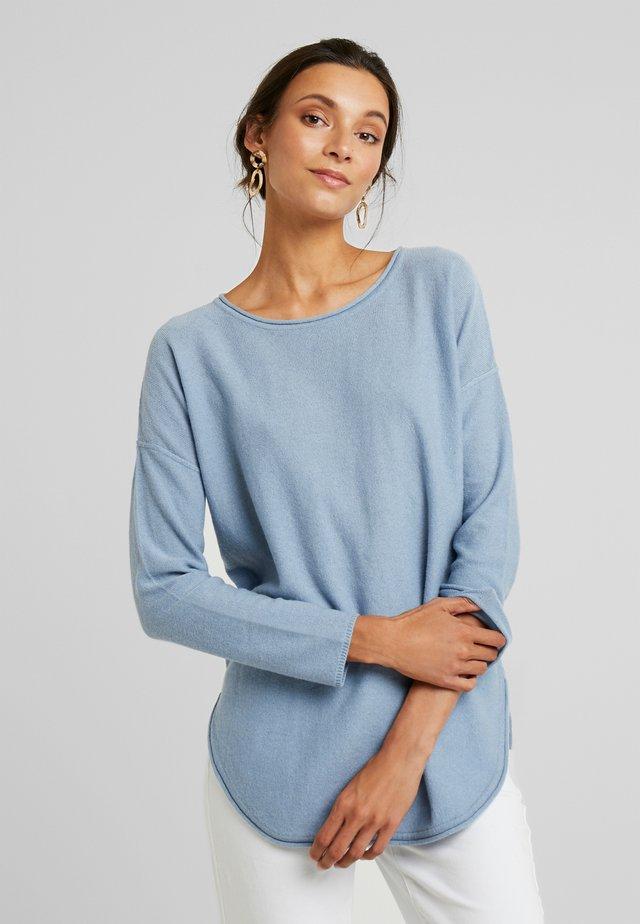 ILIVIASA - Strickpullover - dusty blue