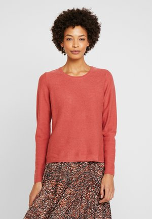 ADELIN - Jumper - dusty cedar