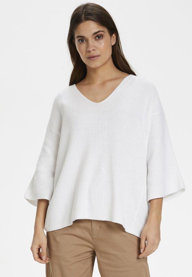 Jersey de punto - bright white