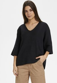 Part Two - Sweter - black - 0