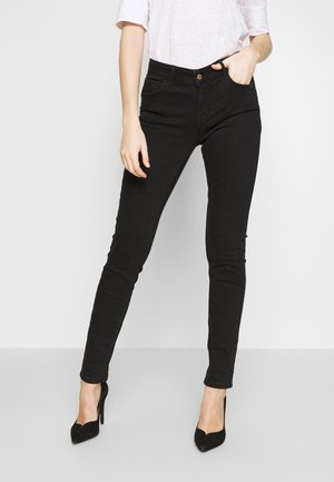 ALICE JE - Jeans Slim Fit - washed black denim