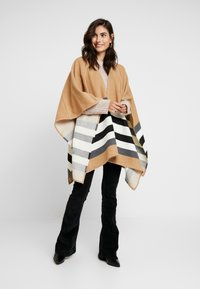 Part Two - SHARON - Poncho - camel - 1