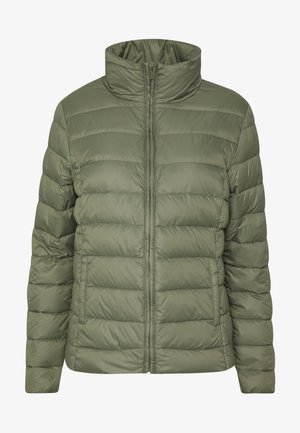 DOWNA - Down jacket - deep lichen green