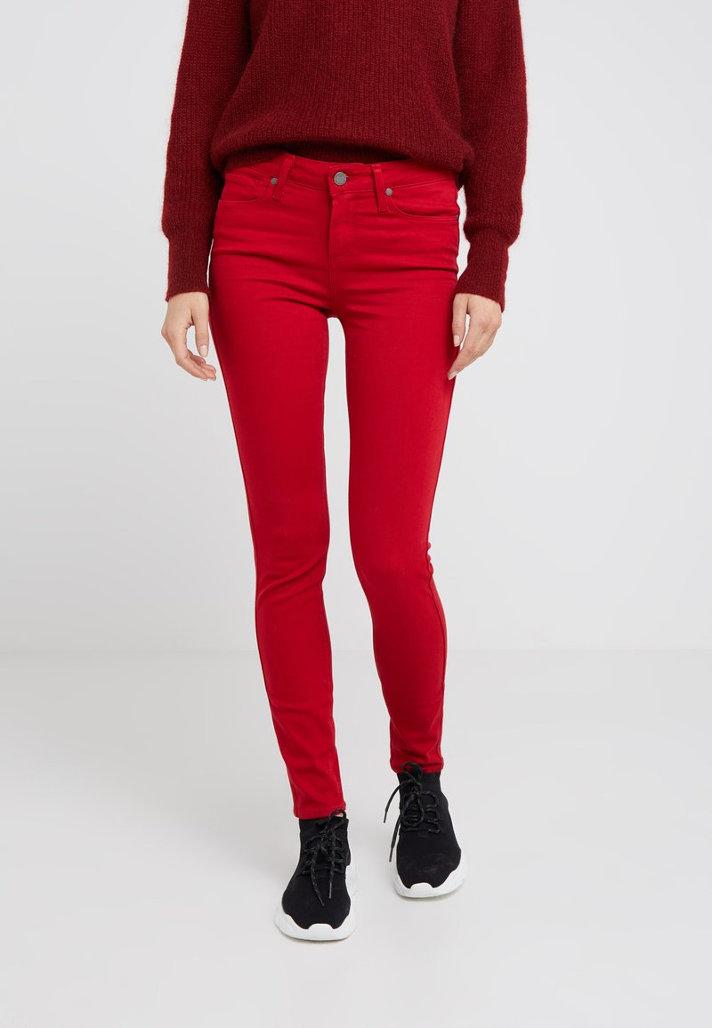Paige - VERDUGO ULTRA - Jeans Skinny Fit - royal red