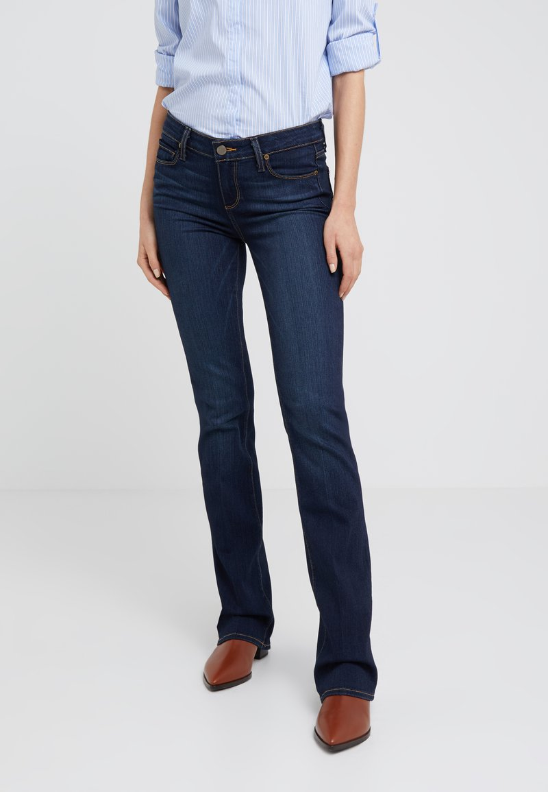 Paige - MANHATTEN BOOT - Jeans Bootcut - armstrong