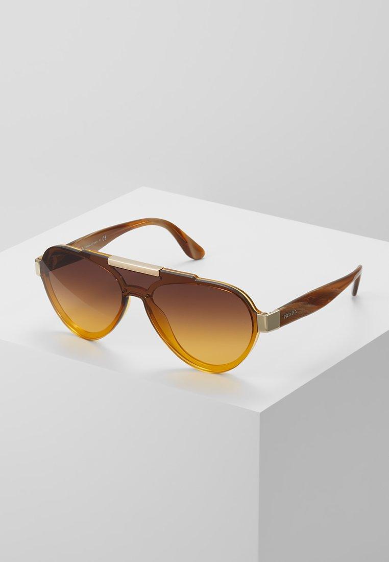Prada - Sonnenbrille - yellow/brown