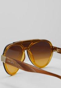 Prada - Sonnenbrille - yellow/brown - 2