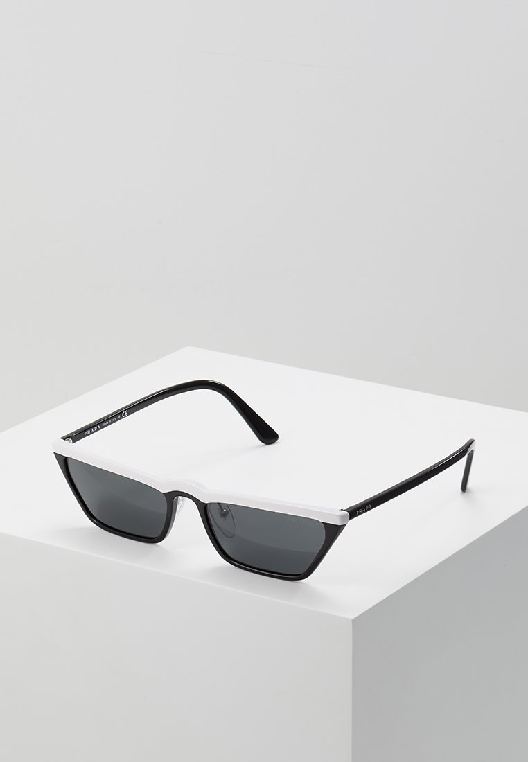 Prada - Sunglasses - white/black