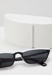Prada - Sunglasses - white/black - 2