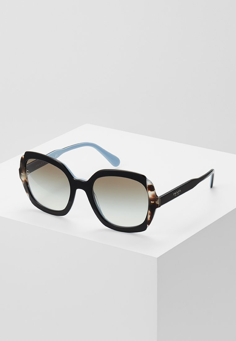 Prada - Sunglasses - black azure/spotted brown