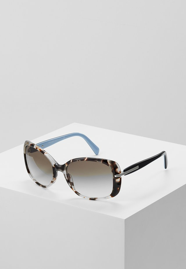 Sonnenbrille - spotted brown