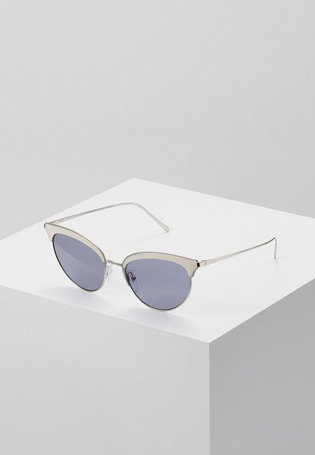 Sluneční brýle - silver-coloured/ivory
