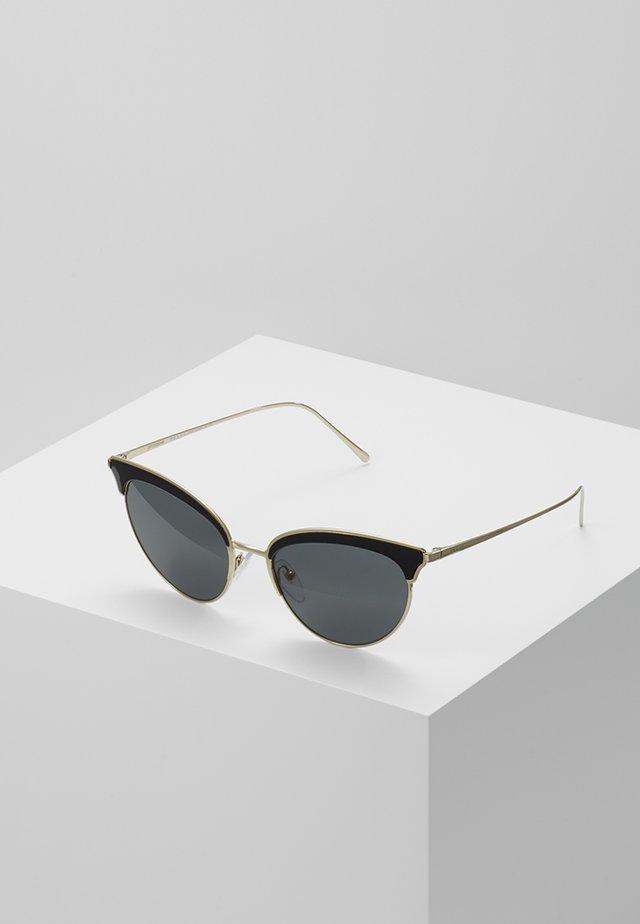 Okulary przeciwsłoneczne - pale gold-coloured/black