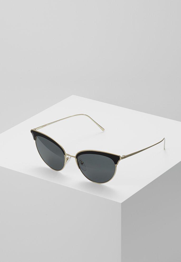 Prada - Sunglasses - pale gold-coloured/black