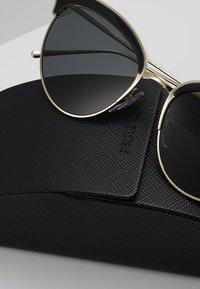 Prada - Sunglasses - pale gold-coloured/black - 2