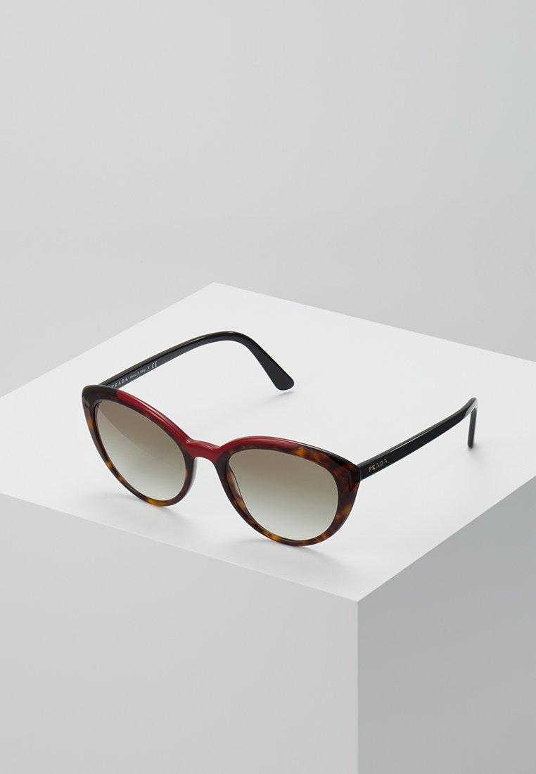 Prada - Sunglasses - black/brown