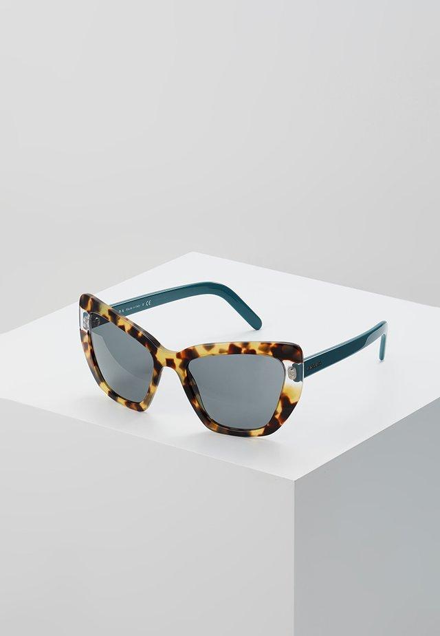 CATWALK - Sunglasses - medium havana/transparent