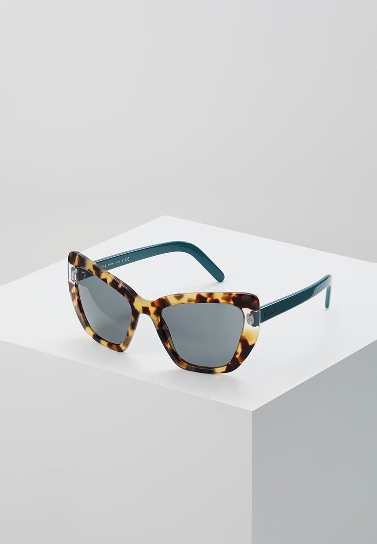 Prada - CATWALK - Sonnenbrille - medium havana/transparent