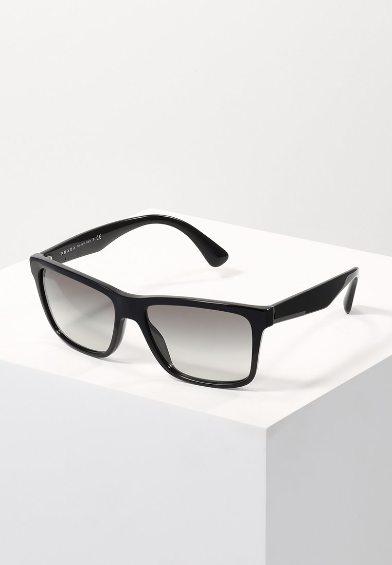 Prada - Sluneční brýle - black/grey gradient