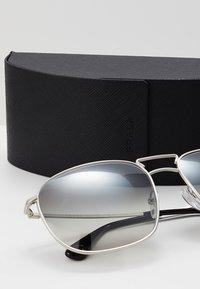 Prada - Solbriller - matte silver / gradient grey silver - 2