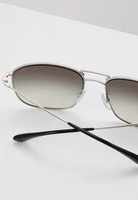 Prada - Solbriller - matte silver / gradient grey silver - 4