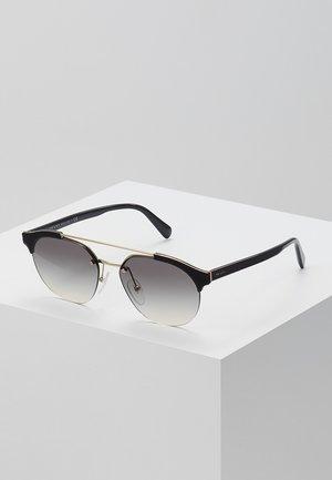 Sonnenbrille - black/pale gold-coloured/grey gradient