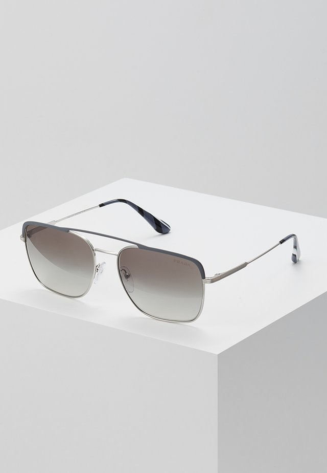 Sonnenbrille - gunmetal/silver-coloured/gradient grey mirror
