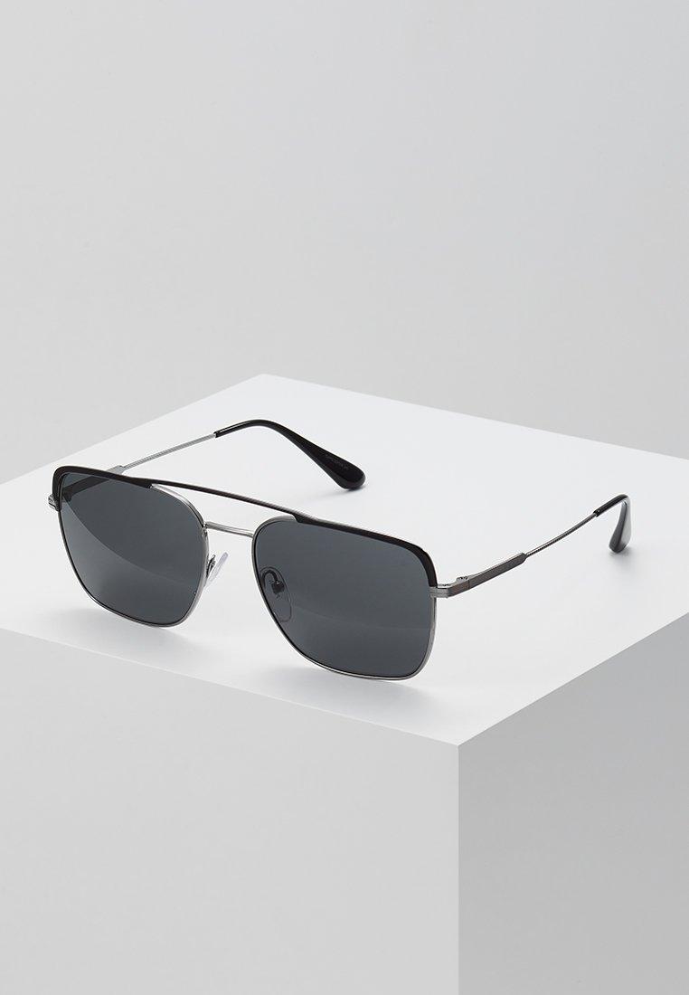 Prada - Sonnenbrille - black/gunmetal/grey