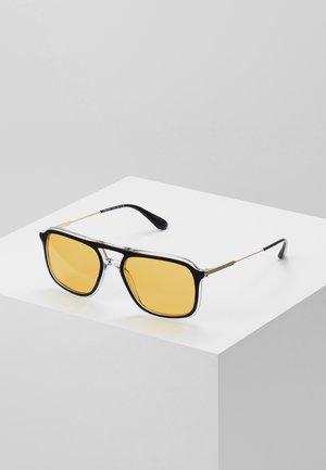 Sonnenbrille - top black/crystal