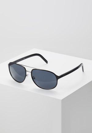 Sunglasses - black on gunmetal