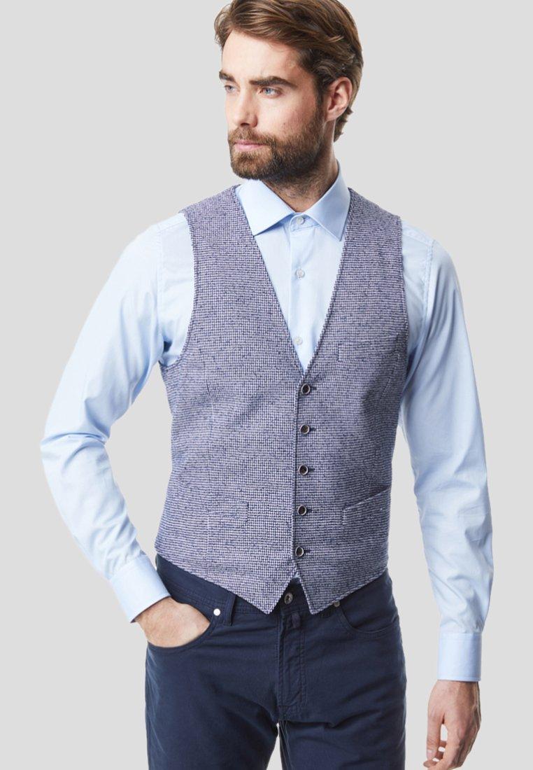 Pierre Cardin - GABRIEL - Suit waistcoat - blue